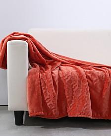 Berkshire Blanket & Home Co.® Garden Damask Velvety Plush Throw