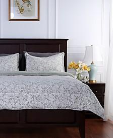 Berkshire Blanket® Floral Lace Plush King Comforter Set