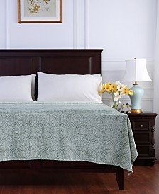 Berkshire Blanket & Home Co.® Garden Mosaic Plush Bed Blanket Collection