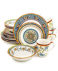 EuroCeramica Duomo 16 Piece Dinnerware Set