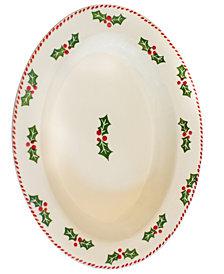 EuroCeramica Natal Large Oval Platter