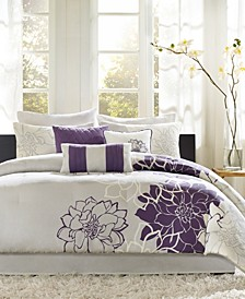 Lola Cotton 7-Pc. Queen Comforter Set