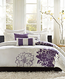 Madison Park Lola 6-Pc. Full/Queen Duvet Cover Set