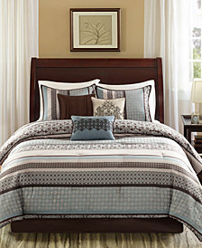 Madison Park Princeton 7-Pc. Queen Comforter Set