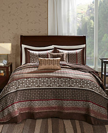 Madison Park Princeton 5-Pc. Queen Bedspread Set