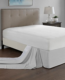 Madison Park Simple Fit One Size Wrap Around Adjustable Bedskirt