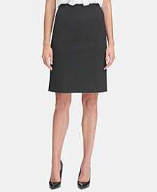 Tommy Hilfiger Pin-Dot Skirt