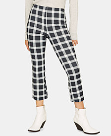 Sanctuary Mod Plaid Cropped Leggings