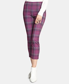 Sanctuary Mod Plaid Capri Leggings