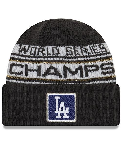 New Era Los Angeles Dodgers World Series Locker Room Knit Hat 2018 Reviews Sports Fan Shop By Lids Men Macy S