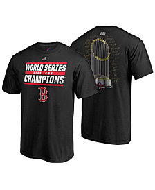 Majestic Men's Boston Red Sox World Series Champ Signature Trophy T-Shirt 2018
