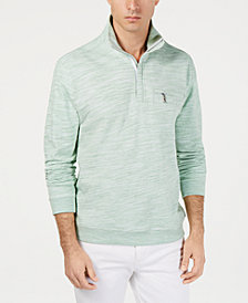 Tommy Bahama Men's Sunrise Sands Stripe Half-Zip Sweatshirt
