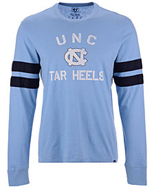 '47 Brand Men's North Carolina Tar Heels Long Sleeve Scramble T-Shirt