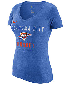 Nike Women's Oklahoma City Thunder Dri V-Neck T-Shirt