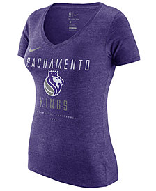 Nike Women's Sacramento Kings Dri V-Neck T-Shirt