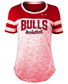 5th & Ocean Women's Chicago Bulls Spacedye T-Shirt