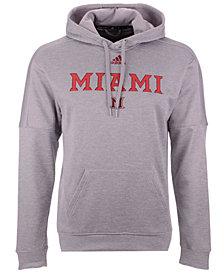 adidas Men's Miami (Ohio) Redhawks Team Issue Fleece Hoodie