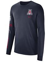 422b21a5 Nike Men's Arizona Wildcats Long Sleeve Basketball T-Shirt