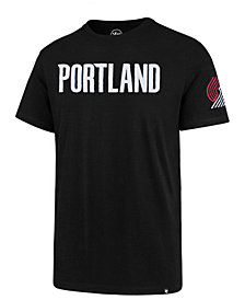 '47 Brand Men's Portland Trail Blazers Fieldhouse T-Shirt