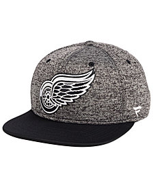 Authentic NHL Headwear Detroit Red Wings Emblem Snapback Cap