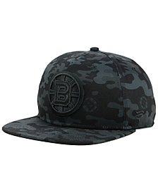 Authentic NHL Headwear Boston Bruins Mute Camo Snapback Cap