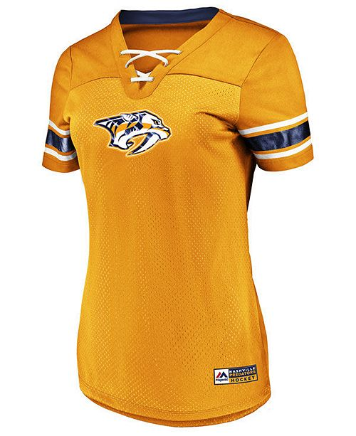 a2a3ffab8 Majestic Women s Nashville Predators Draft Me T-Shirt  Majestic Women s  Nashville Predators Draft Me T- ...
