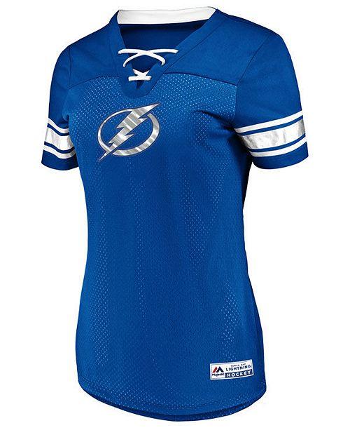 Majestic Women's Tampa Bay Lightning Draft Me T-Shirt