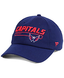 Authentic NHL Headwear Washington Capitals Rinkside Fundamental Adjustable Cap