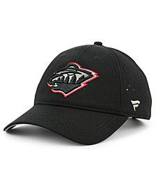Authentic NHL Headwear Minnesota Wild Pro Clutch Adjustable Cap