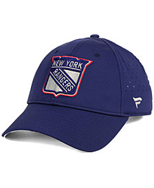 Authentic NHL Headwear New York Rangers Pro Clutch Adjustable Cap