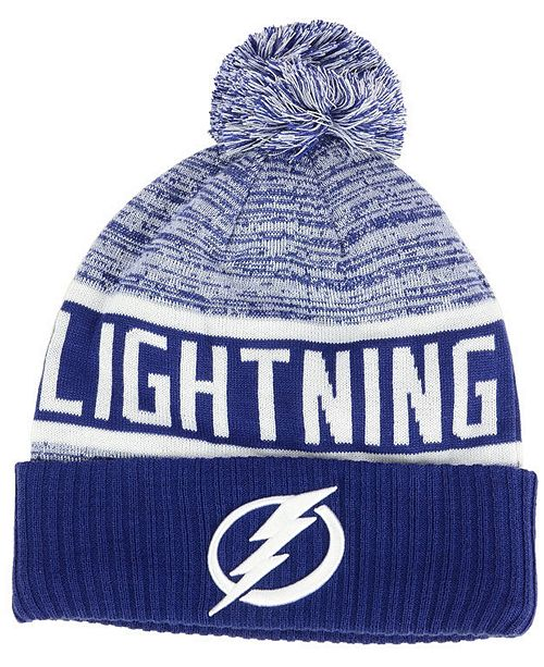 Authentic NHL Headwear Tampa Bay Lightning Goalie Knit Hat
