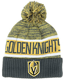 Authentic NHL Headwear Vegas Golden Knights Goalie Knit Hat