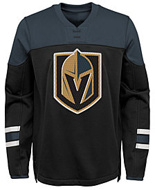Outerstuff Vegas Golden Knights Defenseman Fleece Sweatshirt, Big Boys (8-20)