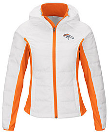 G-III Sports Women's Denver Broncos Defense Polyfill Jacket