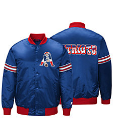 G-III Sports Men's New England Patriots Draft Pick Starter Satin Jacket