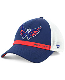 Authentic NHL Headwear Washington Capitals Rinkside Trucker Adjustable Cap
