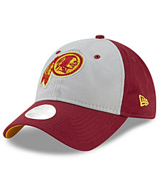 New Era Women's Washington Redskins Gray Glitter 9TWENTY Cap