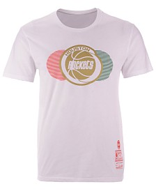 Mitchell & Ness Men's Houston Rockets Little Italy Collection T-Shirt