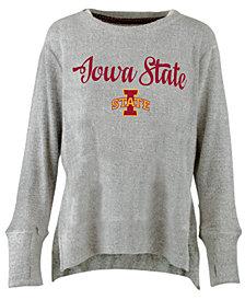 Pressbox Women's Iowa State Cyclones Cuddle Knit Sweatshirt