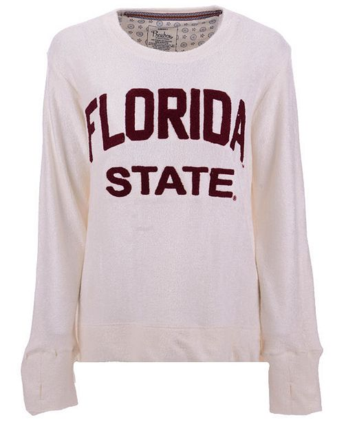Pressbox Women's Florida State Seminoles Cuddle Knit Sweatshirt