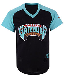 Mitchell & Ness Men's Vancouver Grizzlies Final Seconds Mesh V-Neck Jersey
