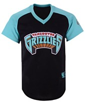 Mitchell   Ness Men s Vancouver Grizzlies Final Seconds Mesh V-Neck Jersey aa6413a47