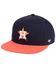 Boys' Houston Astros Basic Snapback Cap
