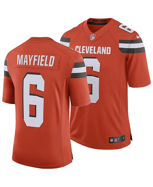 check out 5bfaa 86ca8 Men's Baker Mayfield Cleveland Browns Limited Jersey