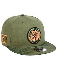 New Era Oklahoma City Thunder Tip Off 9FIFTY Snapback Cap