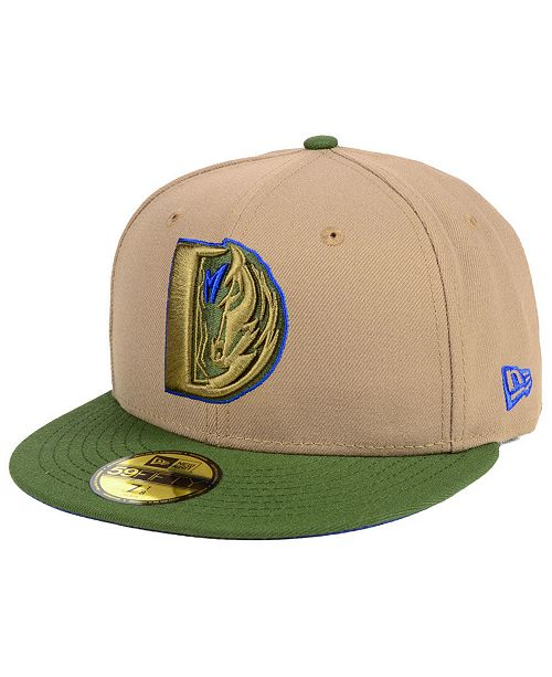 best loved 5511d 7dfed ... New Era Dallas Mavericks Fall 2 Tone Combo 59FIFTY-FITTED Cap ...