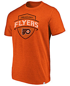 Majestic Men's Philadelphia Flyers Flex Classic Tri-Blend T-Shirt