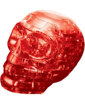 3D Crystal Puzzle - Skull (Red): 48 Pcs 7263363