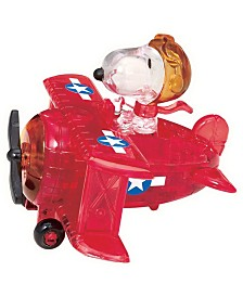 3D Crystal Puzzle - Peanuts Snoopy Flying Ace