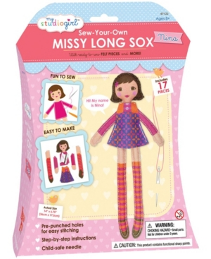 Sew-Your-Own Missy Long Sox - Nina (Brunette)